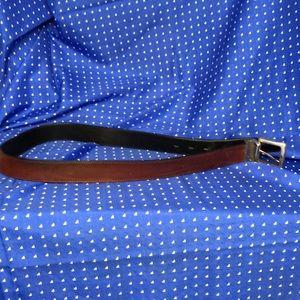 Fossil unisex or men's brown prelovd belt 3'9 inch